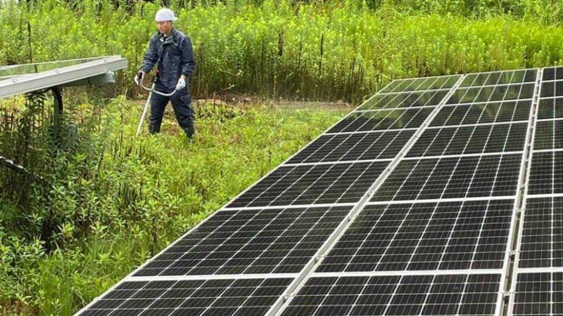 愛知県豊田市 別所発電所  メンテナンス(2021.8.19)